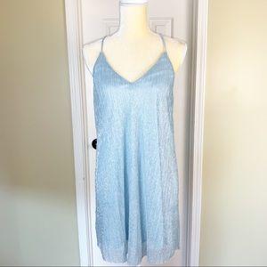 Forever 21 Blue Cocktail Sheath Dress Size M